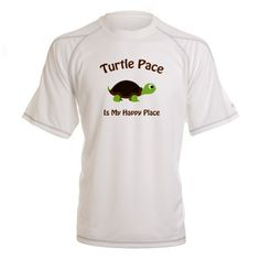 Turtle Pace Performance Dry T-Shirt on CafePress.com