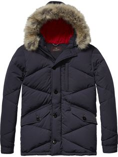 Midlength Quilted Jacket