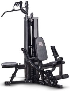 The Marcy 100 lb. Stack Home Gym is an excellent way to build a toned and chiseled physique. It has multiple options including pec flys chest press lat pull downs leg extensions and more. Marcy Two Station Home Gym Marcy Home Gym, At Home Gym, Home Gym Equipment, No Equipment Workout, Gym Workouts, At Home Workouts, Training Workouts, Elliptical Cross Trainer, Conditioning Workouts
