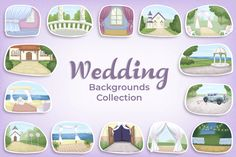 Wedding Backgrounds Vector Collection   GraphicMama Custom Invitations, Invitation Cards, Wedding Scene, File Organization, Wedding Background, Marketing Plan, Design Bundles, Have Fun, Presentation