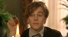 "Leonardo Di Caprio como Arthur Rimbaud en ""Total Eclipse"""