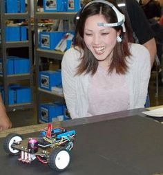 Use your brain as a remote! Make a mind-controlled Arduino robot…