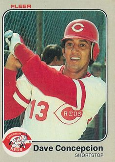 Dave Concepcion - Cincinnati Reds I love, love, love the number 13!