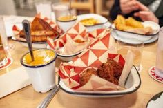 Two piece fried chicken, mashed potatoes, Texas toast, and more at Parson's Chicken and Fish in Logan Square. Brisket Sandwich, Texas Toast, 38th Birthday, Swedish Fish, Cheese Curds, Chicago Travel, Birthday Dinners, Fritters, Places To Eat
