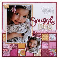 layout by BlueStarDesign... LOVE the quilt design/stitching
