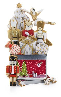 Nutcracker Christmas Biscuit Tin