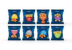 Lamb Weston New Visual Identity on Packaging of the World - Creative Package Design Gallery