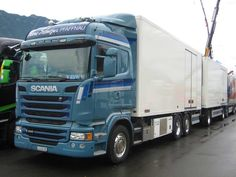Scania Streamline R490 reefer of Transporte Schwizer A