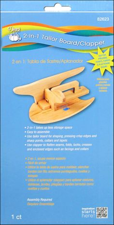Dritz Clothing Care Tailor Board/Clapper -- CreateForLess