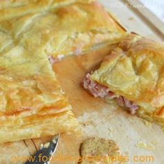 HAM AND CHEESE PUFF PASTRY BAKE