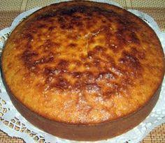Essa receita simples de bolo de batata doce é uma delicia! Aprenda a fazer.