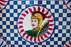 disegni del carretto siciliano Printed Bags, Porsche Logo, Mosaic, Mermaid, Crochet, How To Make, Sicily Italy, Painting, Palermo