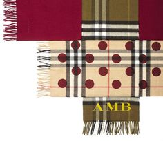 British heritage brand Burberry is launching a 'Scarf Bar' that allows customers to create their own version of its classic checked cashmere muffler.