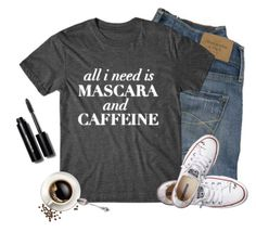 Pretty much :) by cindycook10 on Polyvore featuring polyvore, fashion, style, Converse, Bobbi Brown Cosmetics, Abercrombie & Fitch and graphictee