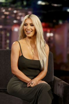 JIMMY KIMMEL LIVE - ABC's 'Jimmy Kimmel Live' features a week of guest hosts filling in for Jimmy, starting Monday, October 30. The guest host for Thursday, November 2 was Jennifer Lawrence with guest Kim Kardashian West (KKW Beauty) and musical guest Linkin Bridge. (Randy Holmes/ABC via Getty Images)KIM KARDASHIAN via @AOL_Lifestyle Read more: https://www.aol.com/article/entertainment/2017/11/05/kim-kardashian-lacma-art-film-gala/23267362/?a_dgi=aolshare_pinterest#fullscreen