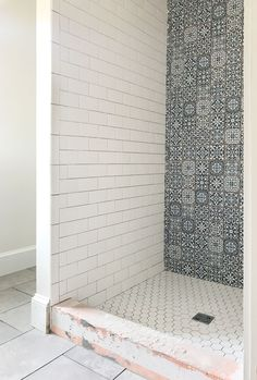 HOLY THINSET, BATMAN! The Beach House Bathrooms Are Tiled! | Young House Love