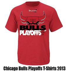 Chicago Bulls Playoffs 2013 T-Shirt