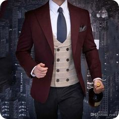 You will become such a outstanding man with latest coat pant designs black velvet groom tuxedos red men wedding suits groomsmen blazer smoking jacket sli Wedding Dress Men, Wedding Men, Wedding Suits, Wedding Tuxedos, Wedding Suit Rental, Groom Tuxedo, Tuxedo For Men, Mens Fashion Suits, Mens Suits