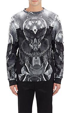 Marcelo Burlon County of Milan Tempanos-Print Sweatshirt - Pullover - Barneys.com
