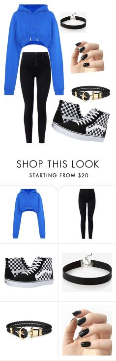 """""""Tamara/Tom (Eddsworld)"""" by pizza-queen on Polyvore featuring Off-White, J Brand, Vans, Express and Incoco"""