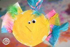 Make a Silly Paper Plate Bird