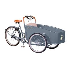 Buy Johnny Loco Earl Grey Cargo Bike, Grey