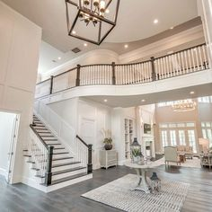 I love just about everything about this home design and tour by Crimson Design & Remodeling — Interior Designer in The Woodlands, Austin… Dream House Interior, Luxury Homes Dream Houses, Dream Home Design, My Dream Home, House Design, Sims House, Dream House Plans, House Goals, Home Fashion