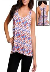 Roz - Abstract Tank ~~ Your next outfit is one click away! Shop at www.SassyRiley.com