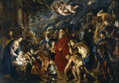 Los Tres Magos de Oriente: La Adoración de los Reyes Magos, de Peter Paul Rub...