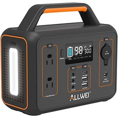 Amazon has the ALLWEI Portable Power Station, 300W/Peak 600W Solar Generator 280Wh/78000mAh CPAP Backup Lithium Battery Pack with LED light,Pure Sine Wave AC Outlet,PD 60W,for Outdoors Camping Travel Emergency marked down from $299.99 to $165.00. That is $$135 off retail price! TO GET THIS DEAL: GO HERE to go to the product page and click… Solar Panel Charger, Solar Panels, Portable Electric Generator, Power Shortage, Solar Generator, Sine Wave, Outdoor Camping, Pure Products, 5 Hours