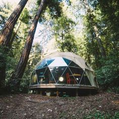 Check out this Hipcamp in California: Camp Cruz Small Group Retreat, Camp Cruz Group Retreat - This is a special listing offered for couples or small groups of 8 people or less. It offers a furnished geodesic dome, a yurt, and a tent cabin...
