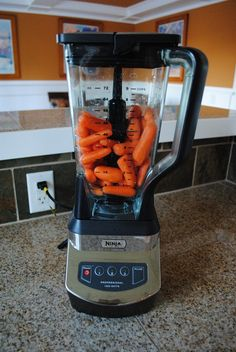 Whole Food Juicing with the Ninja Blender. My husband is OBSESSED his Ninja! Looking for some yummy recipes.