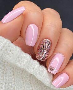 Nails And More, Hair And Nails, Nail Color Trends, Nail Colors, Stylish Nails, Trendy Nails, Cute Acrylic Nails, Cute Nails, Acrylic Nail Designs