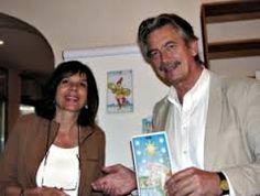 Hajo Banzhaf (Tarot-Expert) and his wife Brigitte Theler (Astrologer). Founders of the German Tarot Association (Tarot e.V.) www.tarotverband.de/en