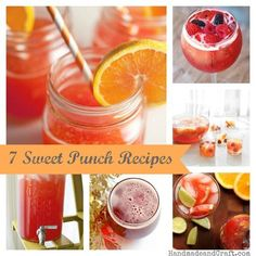 7 Sweet Punch Recipes