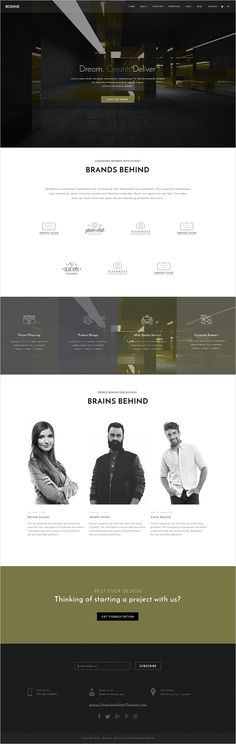 Roxine is a creative #PSD #template for webdesign, photography, #architecture or startup business website with 5 unique homepage and 15 organized PSD pages download now➯ https://themeforest.net/item/multi-purpose-creative-agency-portfolio-psd-template-roxine/17201814?ref=Datasata