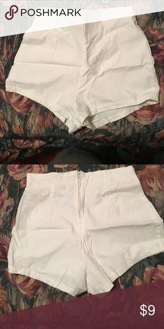 White Shorts Cute white booty shorts! Shorts
