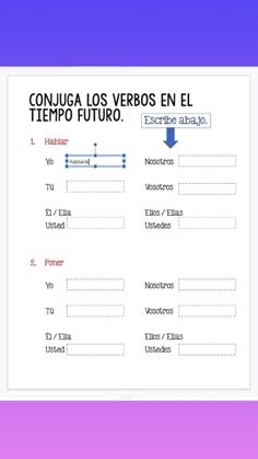 Spanish Future and Conditional Tenses Digital Activities