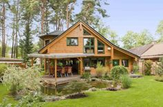 Blockhaus Oberhavel | Holzhaus Blockhaus Holzhäuser | Fullwood Wohnblockhaus