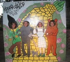 Wizard of Oz for a Bid Day theme