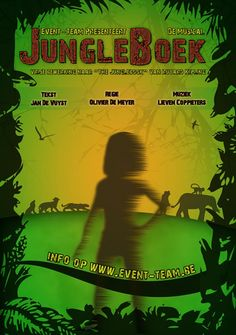 affiche jungle boek
