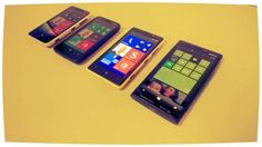 Lumia x20 family. All of em with Windows Phone 8. 520, 620, 820 & 920