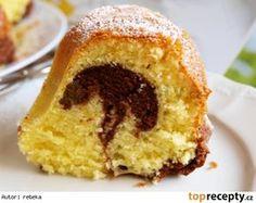 Babiččina třená bábovka No Bake Pies, Cornbread, French Toast, Food And Drink, Baking, Breakfast, Ethnic Recipes, Sweet, Cakes