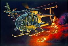 AH-6J Little Bird Night Stalkers