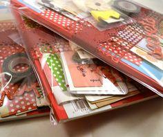 Art Journal Starter Kit with Blank by KeyLimeSupplies