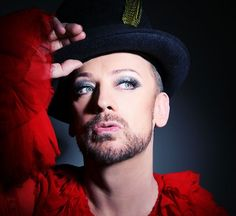 Boy George, born June 14th.
