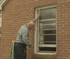 Installing Replacement Windows In A Brick House And