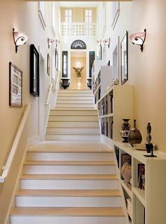 100s of Staircase Design Ideas  http://www.pinterest.com/njestates/staircase-ideas/  Thanks to http://www.njestates.net/real-estate/nj/listings Staircase Design, Staircase Ideas, Stairways, Basement Steps, My Dream Home, Ideal Home, Beautiful Interiors, Future House, House Rooms