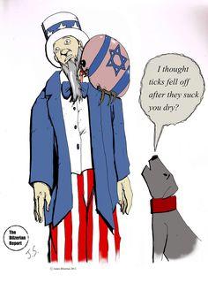 Israeli Tick Sucks the Blood of Uncle Sam
