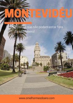 A Plaza Independencia é uma das mais bonitas de Montevidéu. Fica na saída da Ciudad Vieja e é considerada o centro da cidade. Montevideu é uma cidade cheia de atrações e nesse post tem muitas dicas!